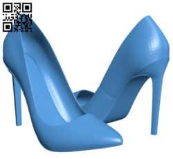High-heeled shoes B005178 file stl free download 3D Model for CNC and 3d printer