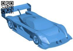 Hillclimb car B005182 file stl free download 3D Model for CNC and 3d printer