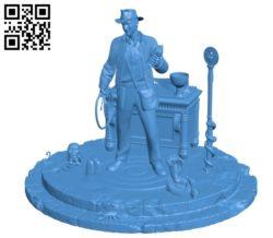 Indiana Jones B004886 file stl free download 3D Model for CNC and 3d printer