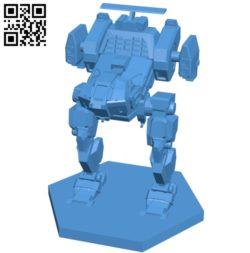 Jenner JR7-D Robot B005198 file stl free download 3D Model for CNC and 3d printer