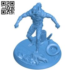 Lagoon Monster B004887 file stl free download 3D Model for CNC and 3d printer