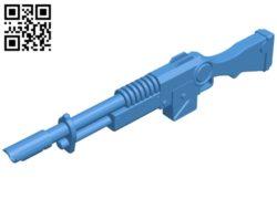 Laser gun B005027 file stl free download 3D Model for CNC and 3d printer
