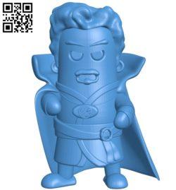 Mini Doctor Strange Man B005203 file stl free download 3D Model for CNC and 3d printer