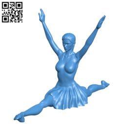 Miss Ballerina twine B004927 file stl free download 3D Model for CNC and 3d printer