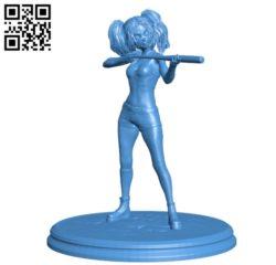Miss H Lee B004917 file stl free download 3D Model for CNC and 3d printer