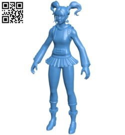 Miss zoey B004933 file stl free download 3D Model for CNC and 3d printer