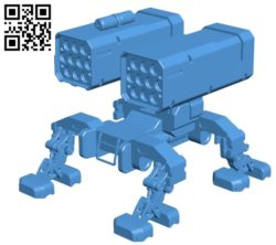 Missile platform B004939 file stl free download 3D Model for CNC and 3d printer