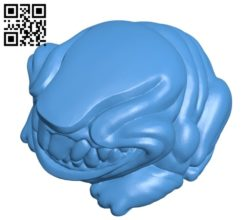 Monster frog B005249 file stl free download 3D Model for CNC and 3d printer