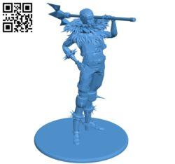 Mr Charlotte Katakuri B005195 file stl free download 3D Model for CNC and 3d printer