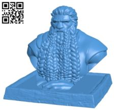 Mr Dwarf B004854 file stl free download 3D Model for CNC and 3d printer