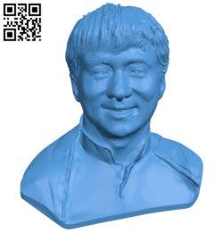 Mr Dzeki Chan B005167 file stl free download 3D Model for CNC and 3d printer