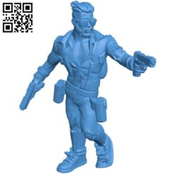 Mr Hipster Cool B005185 file stl free download 3D Model for CNC and 3d printer