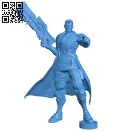 Mr morrison B005223 file stl free download 3D Model for CNC and 3d printer