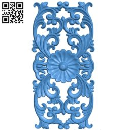 Pattern Flower A003667 wood carving file stl for Artcam and Aspire free art 3d model download for CNC