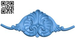 Pattern Flower A003672 wood carving file stl for Artcam and Aspire free art 3d model download for CNC