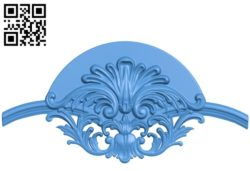 Pattern Flower A003673 wood carving file stl for Artcam and Aspire free art 3d model download for CNC