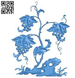 Pattern Vine A003675 wood carving file stl for Artcam and Aspire free art 3d model download for CNC