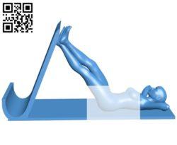 Phone or tablet holder B005227 file stl free download 3D Model for CNC and 3d printer