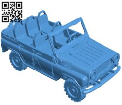 Powerful Tumelo Vihelmo Car B005117 file stl free download 3D Model for CNC and 3d printer