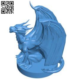 Pseudo dragon B005255 file stl free download 3D Model for CNC and 3d printer