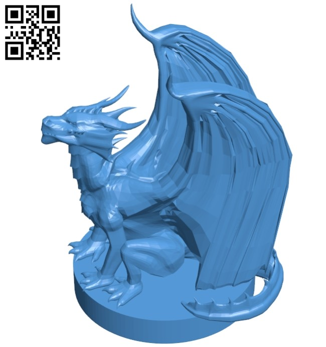 Pseudo dragon B005255 file stl free download 3D Model for CNC and 3d printer