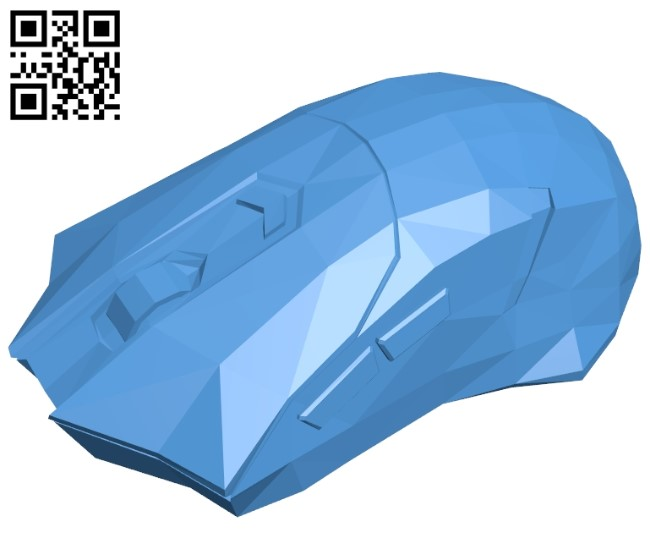 Redragon mouse B005259 file stl free download 3D Model for CNC and 3d printer