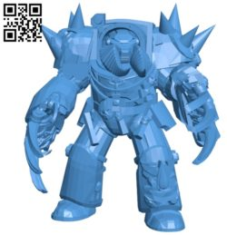 Robot with claws B005000 file stl free download 3D Model for CNC and 3d printer