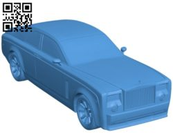 Rolls Royce Phantom Coupe Car B005262 file stl free download 3D Model for CNC and 3d printer