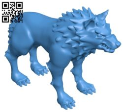 Scary wolf B005085 file stl free download 3D Model for CNC and 3d printer
