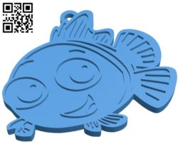 Smiling fish B004937 file stl free download 3D Model for CNC and 3d printer