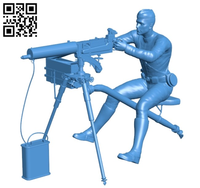 Soldier B004904 file stl free download 3D Model for CNC and 3d printer