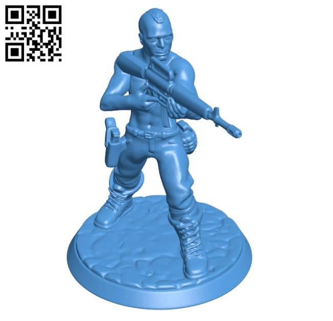 Soldier B004909 file stl free download 3D Model for CNC and 3d printer