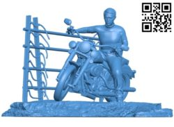 Steve Mcqueen B004880 file stl free download 3D Model for CNC and 3d printer