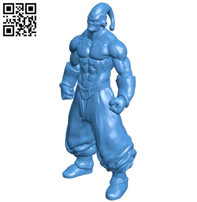 Super Ma Buu B005100 file stl free download 3D Model for CNC and 3d printer