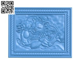 The devil A003684 wood carving file stl for Artcam and Aspire free art 3d model download for CNC