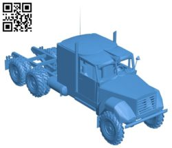 Truck hauler B005233 file stl free download 3D Model for CNC and 3d printer