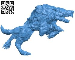 Wolf Fenrir B005207 file stl free download 3D Model for CNC and 3d printer