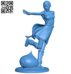 Women B004935 file stl free download 3D Model for CNC and 3d printer