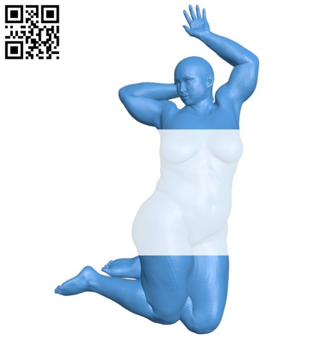 Women B005264 file stl free download 3D Model for CNC and 3d printer
