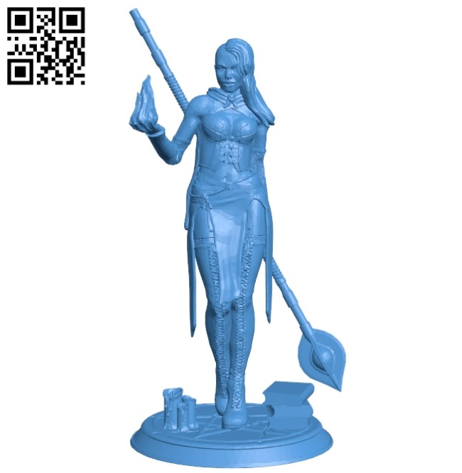 Women B005266 file stl free download 3D Model for CNC and 3d printer