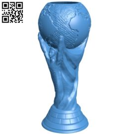 World cup hole B005060 file stl free download 3D Model for CNC and 3d printer