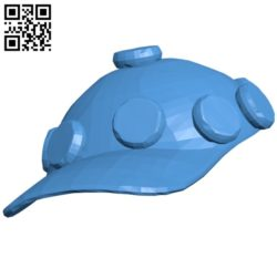 Zoey hat B004934 file stl free download 3D Model for CNC and 3d printer