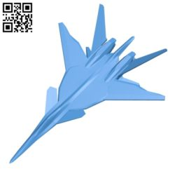 Aircraft XFA-27 B005411 file stl free download 3D Model for CNC and 3d printer