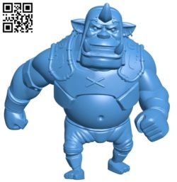Alchemist orc B005635 download free stl files 3d model for 3d printer and CNC carving