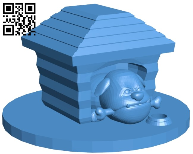 Angry dog B005405 file stl free download 3D Model for CNC and 3d printer