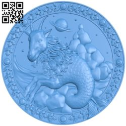 Aries – Zodiac A004100 download free stl files 3d model for CNC wood carving