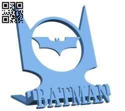 BATMAN cup B005744 download free stl files 3d model for 3d printer and CNC carving