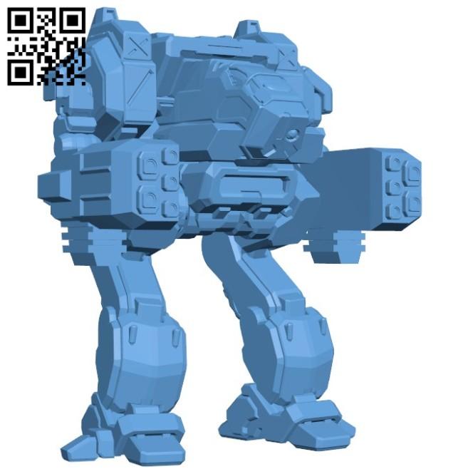 Black hawk robot B005747 download free stl files 3d model for 3d printer and CNC carving