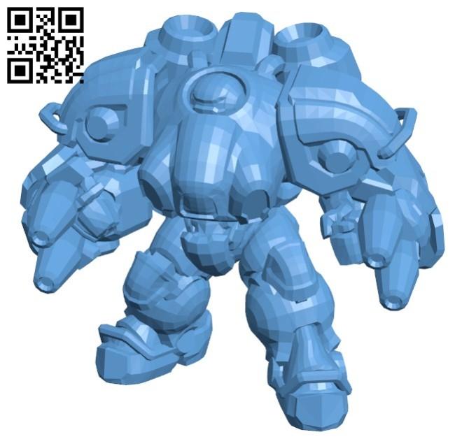Blaze robot B005737 download free stl files 3d model for 3d printer and CNC carving