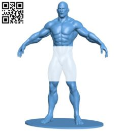 Bodybuilder man B005759 download free stl files 3d model for 3d printer and CNC carving